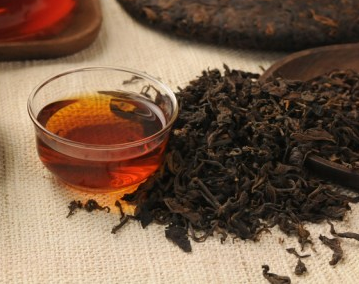 PU-ERH cup of tea